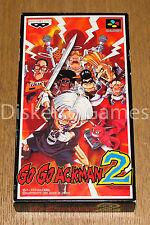 GO GO ACKMAN 2 - SUPER FAMICOM SFC NINTENDO - NTSC JAPAN - GOGO ACK MAN JAP