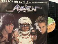 Raven – Pray For The Sun EP 1985 Atlantic – RAVEN 1T VG