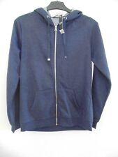 Ladies George Hooded Zipped Navy Jacket - Size 10