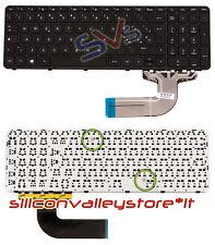 Tastiera Keyboard Italiana Originale HP Pavilion 15-G series P/N 719853-061