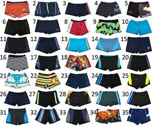 Boxer Briefs Swimming Swim Shorts for Kid's Boy's