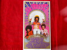 JIMI HENDRIX~ RARE ~ PROMO ONLY CARD~ 3 3/4 X 7 ~ NOT USED~ ~COLLECTABLES