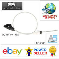 LCC F7A001AKN VW T4 Front hand brake cable with roller and seal 701711476A