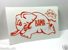 University of Alabama, Bama Vintage Style College DECAL / Vinyl STICKER