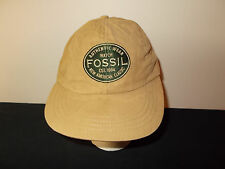 VTG-1990s Authentic Fossil Watches fitted stretchback MADE USA hat sku11