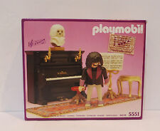 Playmobil 5551 Victorian Mansion Dollhouse  Music playing Piano room Boxed Set