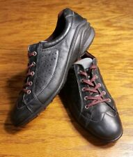 ECCO CASUAL LACE UP LEATHER SNEAKER SHOES WOMEN'S SIZE 10 10.5 EU 41