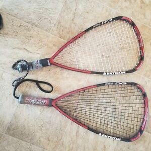 2 EKTELON TORON EXO3 170 gram 4200 power lvl Ruben Gonzalez racquetball racquet