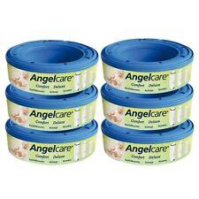 Angelcare 6 Nachfüllkassetten passend für Windeleimer Comfort und Deluxe TOP