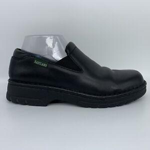 Eastland Newport Black Leather Loafer Slip On 3180 Women Size 9 W