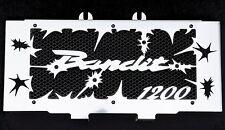 """cache / Grille de radiateur 1200 GSF Bandit 2000>2006 """"Hold up"""" + grilllage noir"""