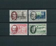 FRANCE 1957 . Série N°s 1095 à 1098 . Oblitérés .