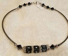 Perfect for the Little Black Dress Fine Sterling Silver One Of A Kind Necklace