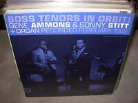 GENE AMMONS & SONNY STITT boss tenors in orbit ( jazz ) verve RVG
