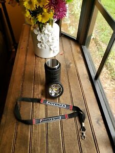 Tyre Cup Tire Shaped Stainless Steel Thermos Coffee Mug With Potenza Lanyard