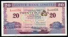 More details for *northern ireland* *first run* **ulster bank £20 note** **1996** **high grade**