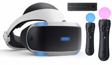 Sony PlayStation 4 / 5 VR PS4 PS5 Headset Bundle + Motion Move Controller PSVR