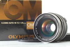 [Exc+5] Olympus OM-system zuiko mc Auto-w 35mm f2 From Japan 596