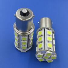 10pcs BA15S 1156 1141 Car Bulb 24-5050SMD LED Light Bulb AC/DC12-24V White 6500K