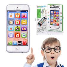 NEW Baby Kid EDUCATIVI INGLESE MUSICA matematica apprendimento Telefono Cellulare giocattolo Y-phone
