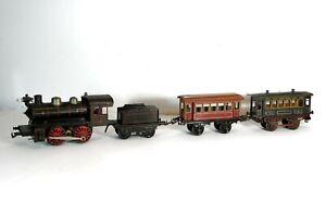ca1920s ELECTRIC MODEL LOCOMOTIVE MODEL RAILROAD TRAIN SET By BING 1 GAUGE