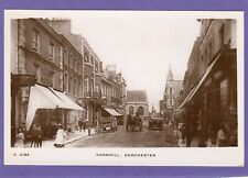 More details for cornhill  dorchester horse & cart motor car rp pc 1914 whs kingsway  ab284
