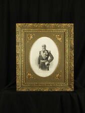MILITARIA PORTRAIT gravure  NAPOLEON SAINT JEAN  D'ANGELY HUSSARD LITHO CADRE