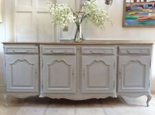 Mahogany French Country Trolleys with Drawers