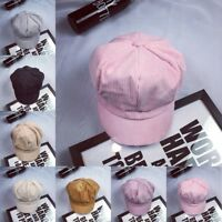 Fashion Women Vintage Beret Cap Cabbie Newsboy Flat Peaked Hat Gatsby Driver Lot