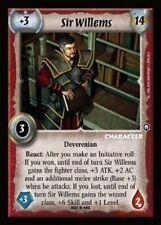 Warlord CCG - Warlord Saga of the Storm: Sir Willems (Rare Dev TOL)