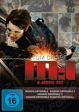 JON VOIGHT TOM CRUISE - MISSION: IMPOSSIBLE 1-4 (4 MOVIE SET) 4 DVD NEU