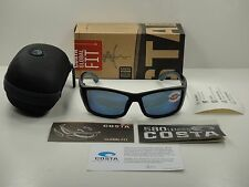 COSTA DEL MAR CORBINA GLOBAL FIT SUNGLASSES BLACK/BLUE 580P LENS CB11GF OBMP