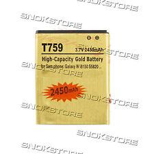 BATTERIA 2450mAh ALTA CAPACITA PER SAMSUNG GALAXY W i8150 i8350 s5820 wonderT759