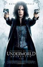 Underworld Awakening movie poster : 11 x 17 inches : Kate Beckinsale poster