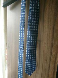 The Savile Row Company Mens Navy Tie