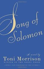 Song of Solomon by Toni Morrison, (Paperback), Vintage , New, Free Shipping