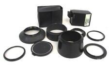 Lot of Camera Accessories Flash Filter Adapters Lens Hoods Hoya Minolta Tamron