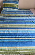 Single Bed Doona Cover Stripes with Matching Pillowcase
