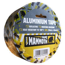 Aluminium Foil Tape Self Adhesive Heat Resistant to 180°C Insulation Duct Tape