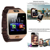 DZ09 Bluetooth Smart Watch Wrist Phone Camera SIM Card For Android IOS Phones