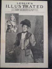 Ada Rehan Actress As Viola In Twelfth Night New York City Frank Leslie's 1894