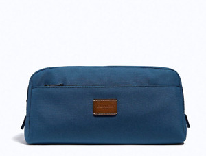 COACH DOUBLE ZIP DOPP KIT TRAVEL BAG TOILETRY CASE F31545 Msrp $195  Nwt