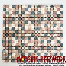Natursteinmosaik Marmor Picco mix terracotta   Mosaik   Art: 38-1204   1 qm