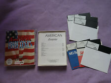 "Jeu PC 5""1/4 - AMERICAN DREAMS - Infogrames"