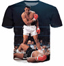 New Fashion Womens/Mens Muhammad Ali Funny 3D Print Casual T-Shirt