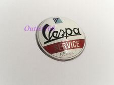 Piaggio Vespa T5 PX 125 150 Super Sprint Service Genova Emblem Badge Round Dome