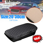 Universal PU Leather Car Armrest Pad Cover Center Console Box Cushion Protector