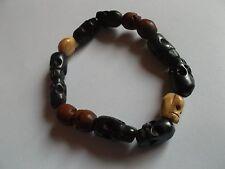 BH007 Supernatural Dean's Skull Bracelet Replica *30*