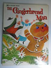 The Gingerbread Man, Bonnie & Bill Rutherford, Big Golden Book, 1st Print, 1972