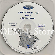 03 04 2005 FORD EXPEDITION​​​​​​ EDDIE BAUER NAVIGATION MAP DISC CD 5 S CENTRAL
